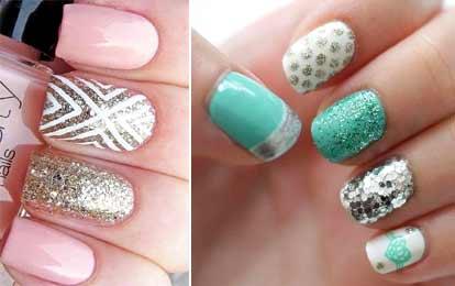 Гели с блестками для ногтей