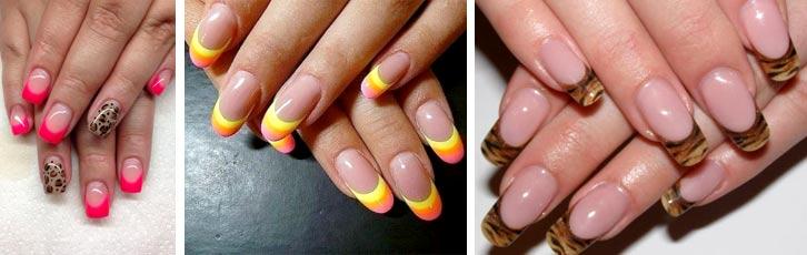 Моделирование ногтей гелем на формах