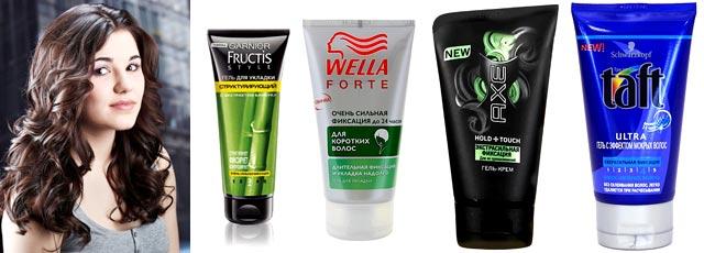 Как подобрать лучший гель крем для волос