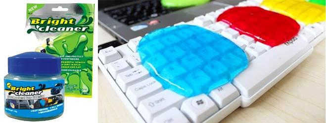 Как использовать гель для чистки клавиатуры