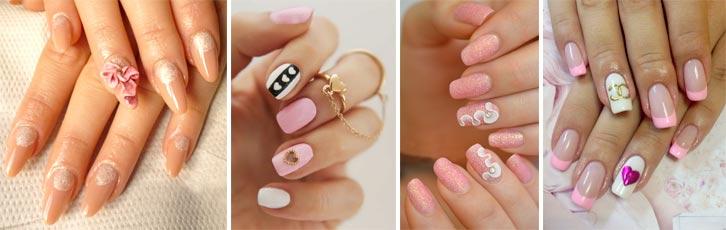 Дизайн ногтей гель красками