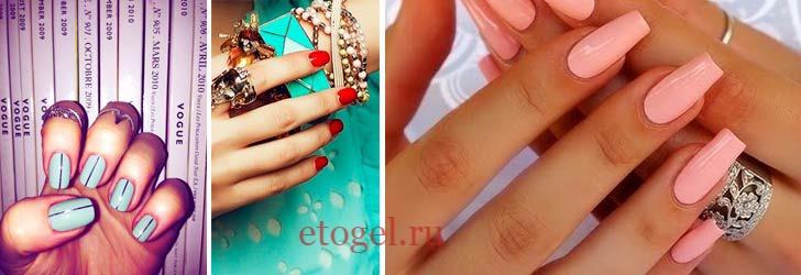 Гель-пудра для ногтей как выглядит