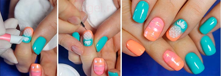 Как работать с гель пластилином на ногтях