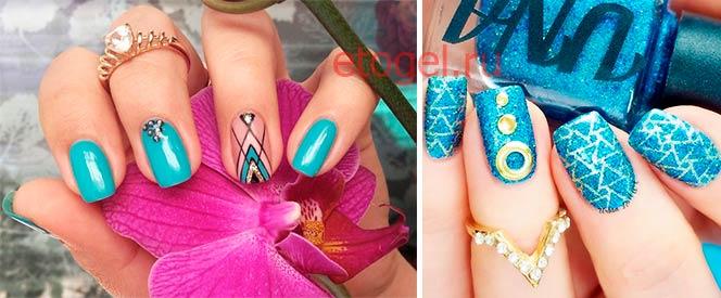 Советы по геометрическому дизайну ногтей