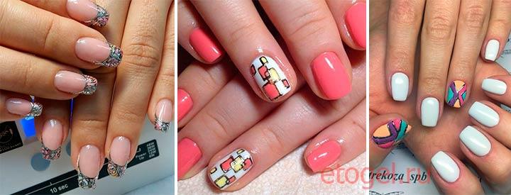 Интересные идеи для литья на ногтях