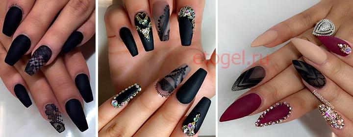 Дизайн ногтей с вуалевым узором