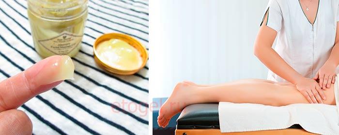 Ручной массаж гелем