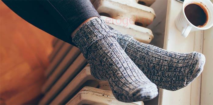 Как согреть ноги в холод чтобы не заболеть
