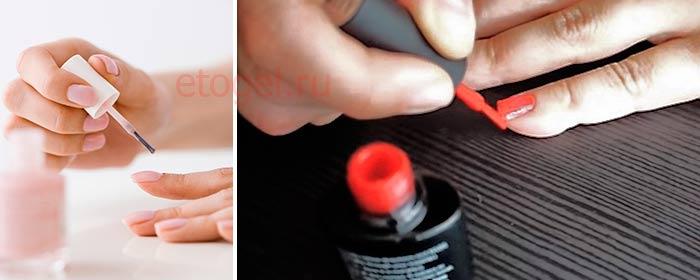 Как нужно запечатывать торец ногтя