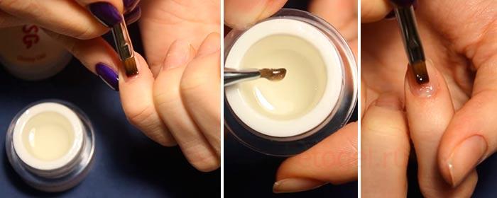 Как выровнять ногти биогелем под гель лак