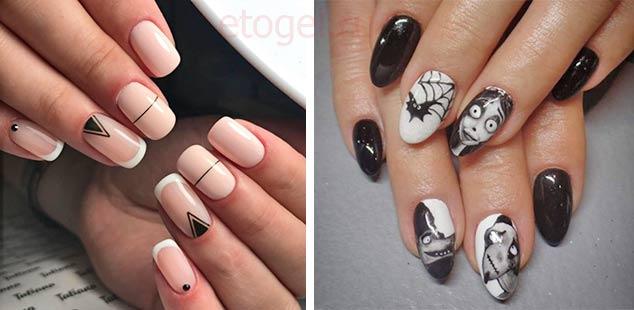 Какие рисунки можно рисовать на ногтях