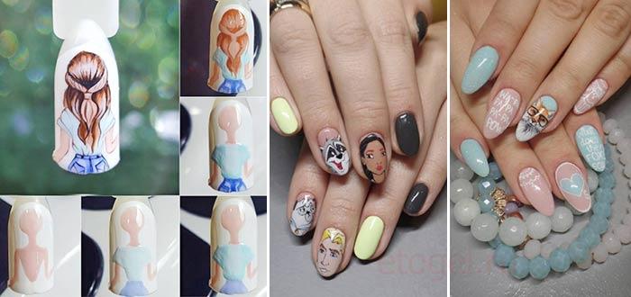 Какие рисунки модные для ногтей
