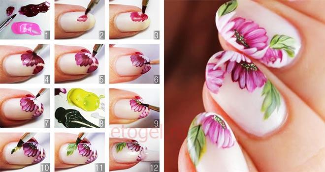 Как пользоваться акриловыми красками для росписи ногтей