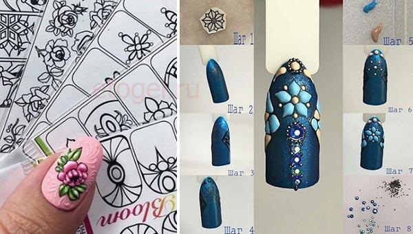 Как нарисовать орнамент свит блум
