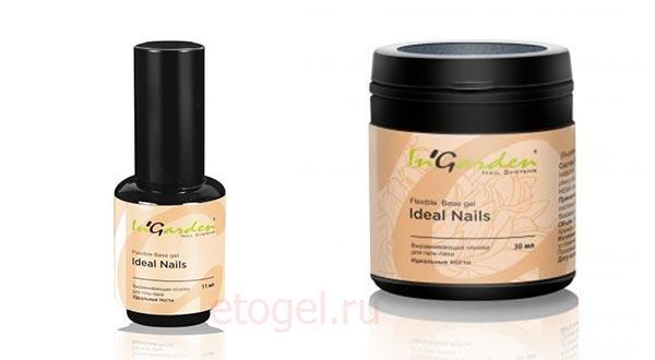 InGarden So Naturally Каучуковая база Идеальные ногти