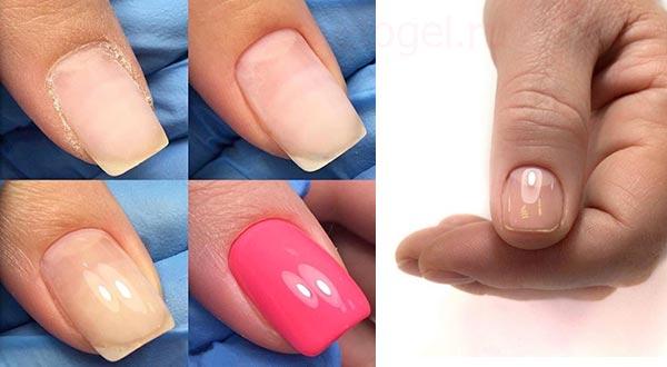 Как должны выглядеть блики на ногтях