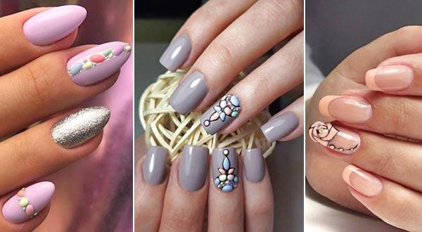 Дизайн ногтей свит блум