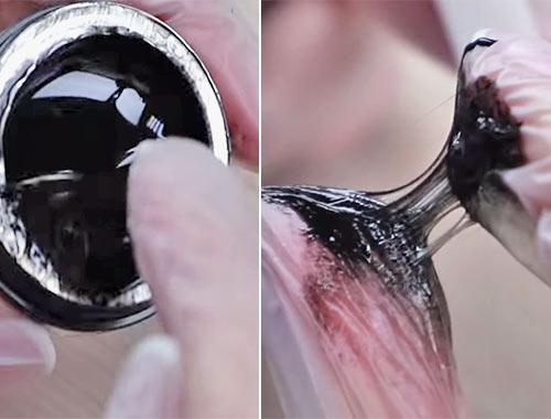 Как нанести гель паутинку пальцами