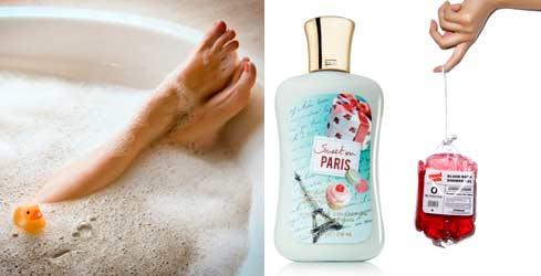Гель для душа и ванной