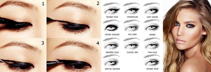 Как использовать гель для подводки глаз