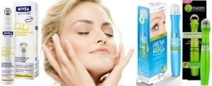 Garnier роликовый гель для кожи вокруг глаз