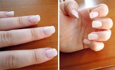 Коррекция ногтей покрытых гелем происходит в несколько этапов