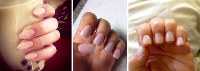 Коррекция ногтей гелем на дому