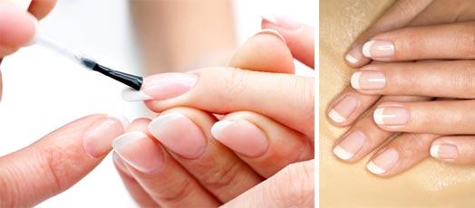 Коррекция акриловых ногтей гелем