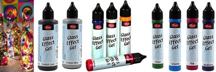 Немецкий гель с эффектом стекла viva-glaseffect-gel