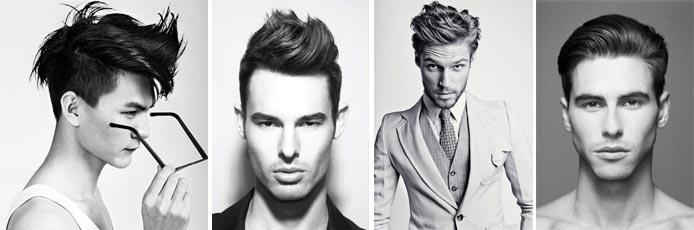 Достойная внимания укладка волос гелем для мужчин