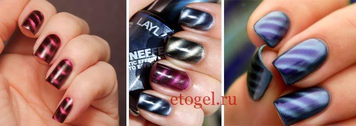 Цветовая палитра магнитных гель лаков