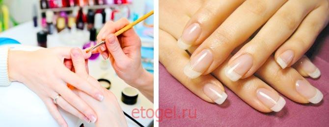 Очень тонкие ногти после гель лака