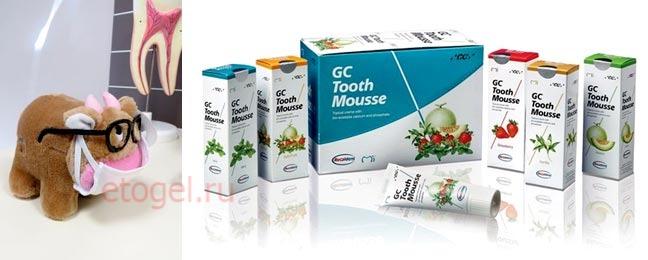 Реминерализующий гель Tooth mousse