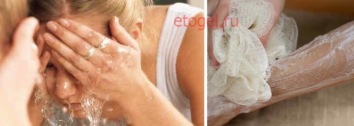 Можно ли гелем для душа мыть лицо