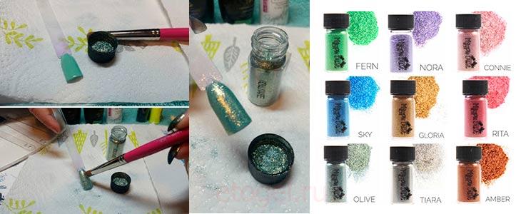 Какие нужны материалы для нанесения пигмента на ногти