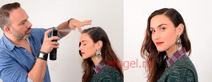 Как сделать укладку гелем для волос в модном стиле