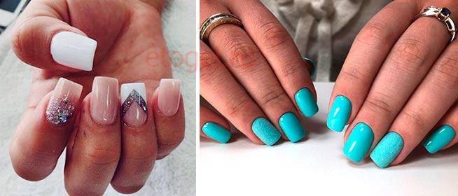 Какой сделать дизайн на квадратные ногти