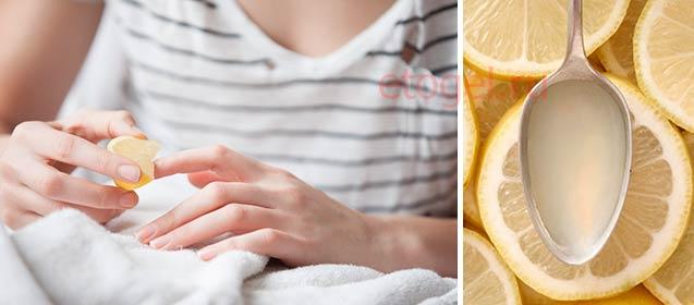 Домашние средства для отбеливания ногтевой пластины