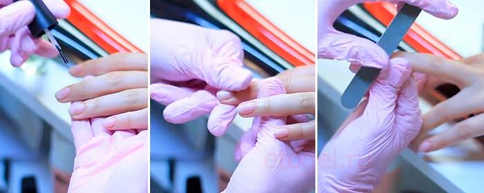 Как делают запечатывание ногтевых пластин