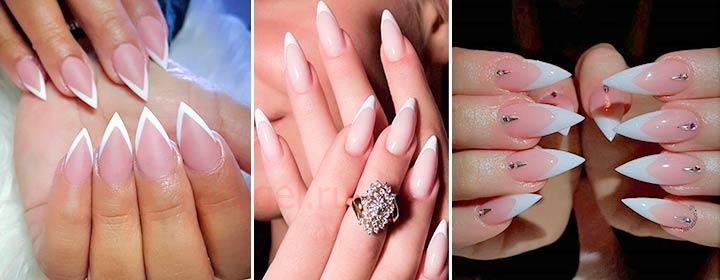 Как сделать форму ногтей заостренных 21