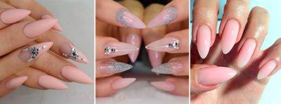Дизайн для ногтей формы стилет