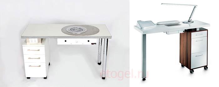 Как выбрать маникюрный стол