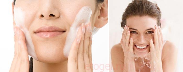 Как очищать проблемную кожу лица