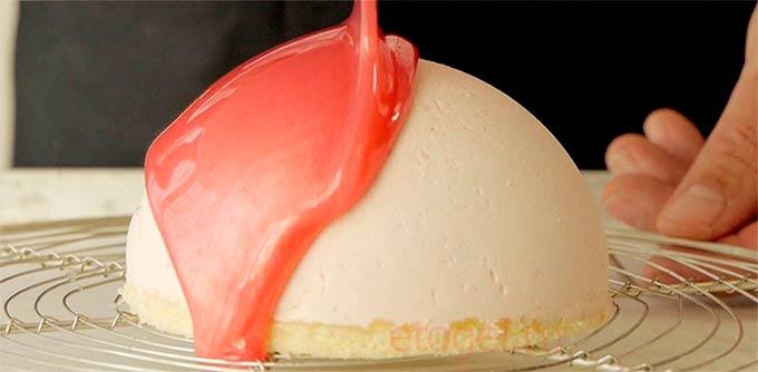 гель для покрытия тортов