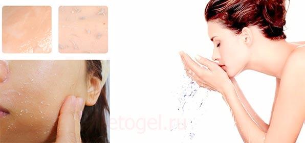 Как пользоваться пилингом скаткой для лица
