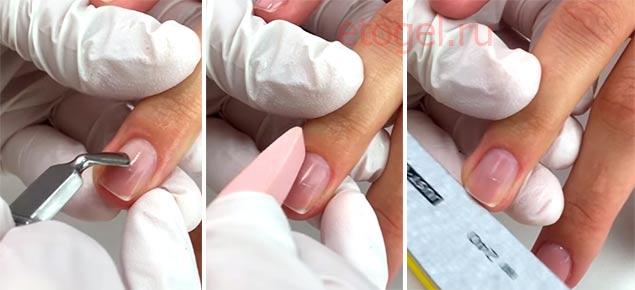 Как делать биоламинирование ногтей системой NanoProfessional