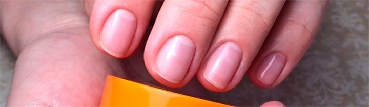 Результат биоламинирования ногтей