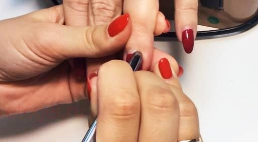 Как снять гель лак с нарощенных ногтей не повредив их