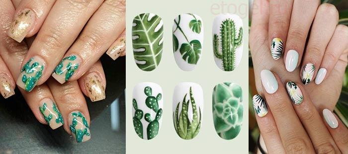 Флористика в дизайне ногтей