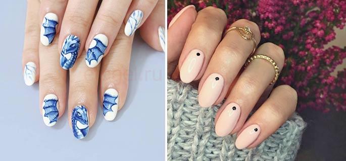 Дизайн ногтей с рисунками на гель лаке